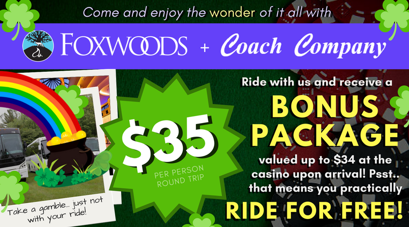 Foxwoods Bonus Package